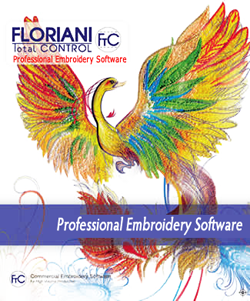Floriani Total Control - Professional Embroidery Software